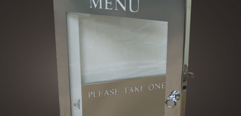 Take away display